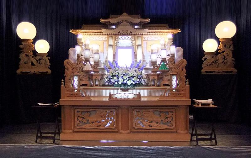 50万プラン祭壇