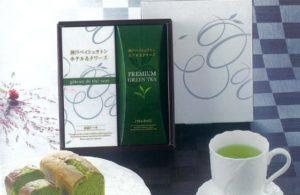 神戸ベイシュラトンホテル&タワーズ 抹茶ケーキ・プレミアムティーバッグ煎茶ギフト